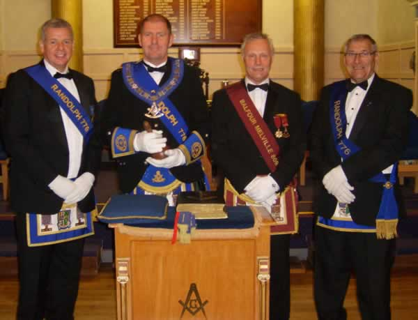 Lodge Randolph No.776 Installation