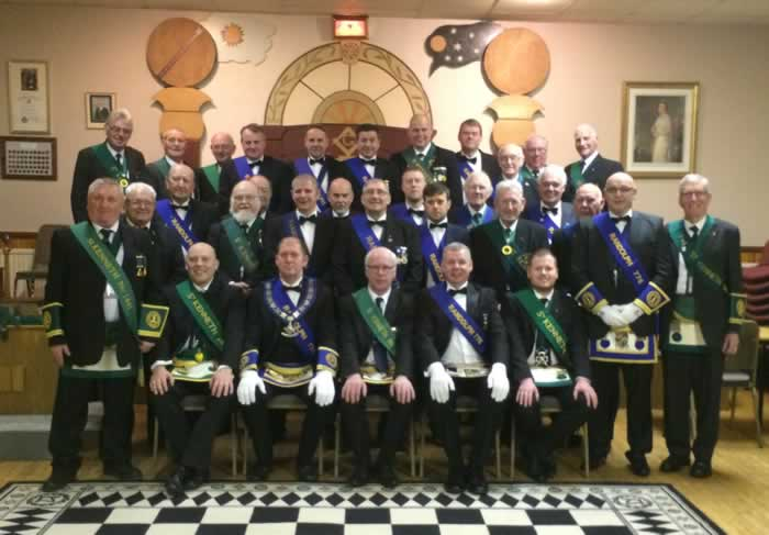 Mark Degree at Lodge St. Kenneth 1441