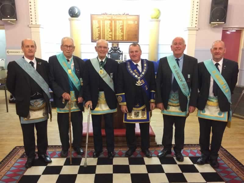 Visitors from Lodge 25