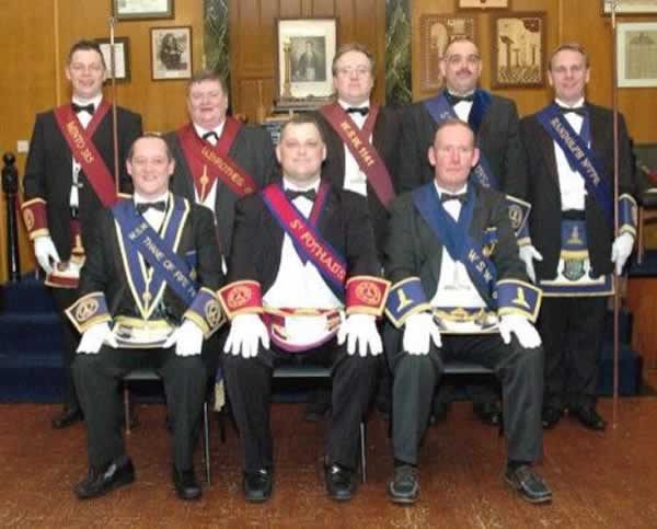 Lodge St. Fothad's Senior Warden Degree Team