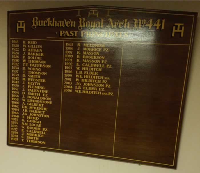Past 1st Principal Board